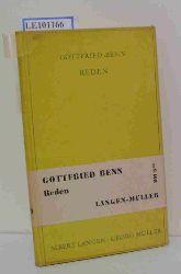 G. Benn  G. Benn Reden