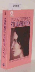 Champion, Jeanne  Champion, Jeanne Sturmhöhen