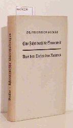 Becker, Friedrich  Becker, Friedrich Eine Fahrt durch die Sonnenwelt / Aus den Tiefen des Raumes