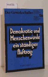 Loderer, Eugen  Loderer, Eugen Demokratie und Menschenwürde ein ständiger Auftrag