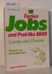 Beckmann Georg  Beckmann Georg Ferienjobs & Praktika - Europa und Übersee 88/89