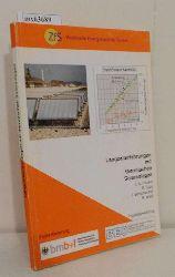 F.A. Peuser u.a.  F.A. Peuser u.a. Langzeiterfahrungen mit thermischen Solaranlagen
