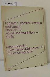 """Colletti, Lucio u.a.  Colletti, Lucio u.a. """"Über Lenins """"""""Staat und Revolution"""""""" heute"""""""