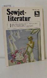 Sowjetliteratur  Heft 10 1984