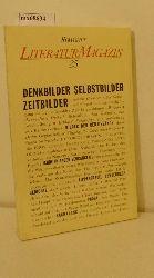 Literaturmagazin 25: Denkbilder - Selbstbilder - Zeitbilder