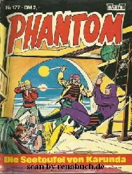 Phantom, Heft 177: Die Seeteufel von Karunda / Das Rätsel der goldenen Statuen