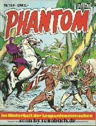 Phantom, Heft 184: Im Hinterhalt der Leopardenmenschen / Der Vulkan der Opferkrieger