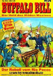Buffalo Bill, Nr. 509: Der Rebell vom Rio Pecos