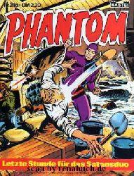 Phantom, Band 216: Letzte Stunde für das Satansduo / Die Todeskralle