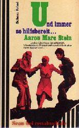 Aaron Marc Stein:  Und immer so hilfsbereit...
