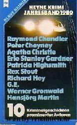 Heyne Krimi Jahresband 1980 - 10 Kriminalgeschichten prominentener Autoren