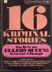 16 Kriminalstories - Das Beste aus Ellery Queens Kriminal-Anthologie