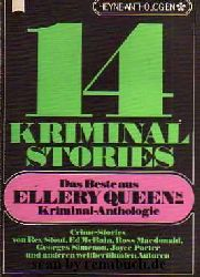 14 Kriminalstories - Das Beste aus Ellery Queens Kriminal-Anthologie