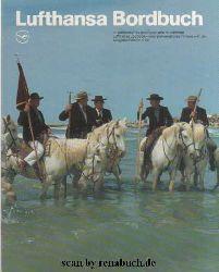Lufthansa Bordbuch 2-86: Spanien, weiße Pferde, schwarze Stiere, Bayern, Bier, brauen, Schweden, Stockholm, Afrika, Ägypten, Kairo