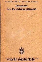 Knopp, Dr. Konrad:  Elemente der Funktionentheorie