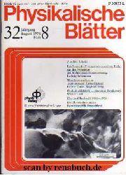Physikalische Blätter, Heft 8 - 1976