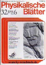 Physikalische Blätter, Heft 6 - 1976
