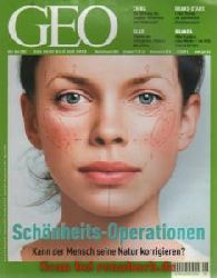 Geo 6/2003: Schönheits-Operationen - Jangtse-Stausee - Livingstone - Glas-Architektur - Orang-Utans - Ruanda