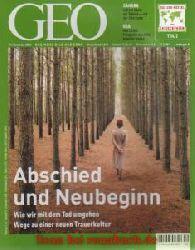"""Geo 12/2003: Trauer - Libyen - Foto-Projekt """"""""America 24/7"""""""" - Interview Susan Blackmore - Bären - 100 Jahre Motorflug: Karl Jatho - Osttibet - Samoa"""