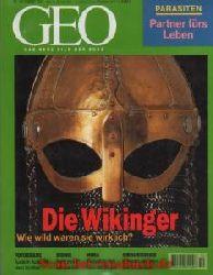 Geo Magazin 10/1997: Lanting - Wikinger - Parasiten - Behinderten-Theater - Bionik - Nuba