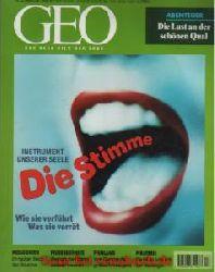 Geo Magazin 12 / 1998: Patagonien - Die Stimme - Fischhäute - Piraterie - Waldbrände - Abenteuerlust - Finnland