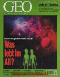 Geo Magazin 1 / 1998: Erosion - Fünfziger Jahre - Brasiliens Indianer - Außerirdische - Passagierjet-Abschuß