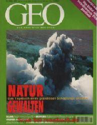 Geo Magazin 3/1997: Island-Vulkan - Lagos - Joao Pomba - Blüten-Kunst - Papst-Wahl - Wildtier-Marketierung - Deutsches Hygiene-Museum