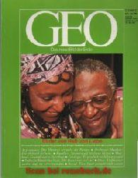 Geo 6/1988: Südafrika - Argentinien - Orchester-Musiker - Kastilien - Thailand - Geologie - Kinderhochzeit - Otter - Seoul