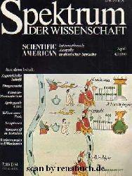 Spektrum der Wissenschaft, Ausgabe 4 - 1980