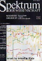 Spektrum der Wissenschaft, Ausgabe 8 - 1981