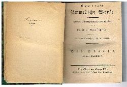 Cooper, James Fenimore -- Cooper´s  sämmtliche Werke. Die Steppe. Übersetzt von Mehreren und herausgegeben von Christian August Fischer. 6 Bände in 1. (=31. Bis 36. Bändchen.)