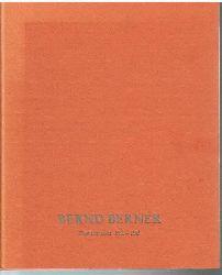 Bernd Berner.  Flächenraum 1960-1965.