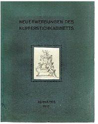Direktorium des Germanischen Nationl-Museums (Herausgeber):  Erster Bericht über die Neuerwerbungen des Kupferstichkabinetts. Pfingsten 1911 bis Pfingsten 1913.