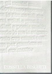 Rossella Biscotti.  Katalog. (Italienisch / Deutsch).