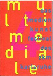 Klotz, Heinrich:  Multi media. Das Kunstfestival des ZKM.