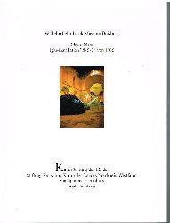 Mario Merz.  Iglu-Installation 8-5-3 von 1985.