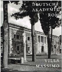 Blüher, Joachim (Herausgeber):  1910 - 2010. 100 Jahre Deutsche Akademie Rom. Villa Massimo.