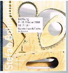 Stefan Bohnhoff: 15. Februar 2008. Galerie Haas & Fuchs. Berlin.