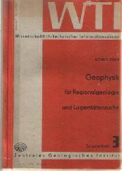 Zeuch Richard  Geophysik für Regionalgeologie und Lagerstättensuche Sonderheft 3