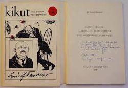 """Dr. Arnold Hückstedt  """"Rudolf Tarnow Lebenskizze Bilddokumente und ausgewählte """"""""Burrkäwers""""""""  Kikiut 9 / 1984 Sonderheft """""""