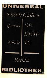 Nicolas Guillen    Gedichte spanisch Deutsch Universal - Bibliothek