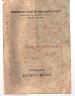 Programmheft  Städtisches Theater Karl-Marx-Stadt Tschaikowski Eugen Onegin   Spielzeit 1953 / 1954