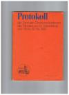 Protokoll der Zentralen Direktorenkonferenz des Ministeriums für Volksbildung vom 10. Bis 12. Mai 1982