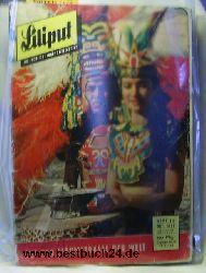 die fröhliche Jugendzeitschrift  Liliput Februar (Hefte 1,4,5,9,10), 1958,