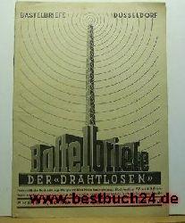 Bauanleitungen  Bastelbriefe der Drahtlosen Heft 8; August 1942;