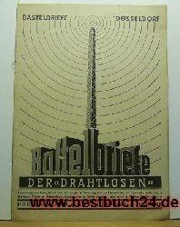 Bastelbriefe der Drahtlosen Heft 10; Oktober 1942;,Bauanleitungen
