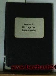 Leonhard, Walther  Die  Lage der Landeskirche und ihre künftige Gestalt