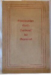 Mitteldeutsches Kunsthandwerk der Gegenwart :,Leistungsschau im Städt. Kunstgewerbemuseum Leipzig, vom 6. Nov. - 15. Dez. 1946.