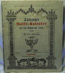 Thurgauer Volkskalender auf das Schaltjahr 1868