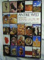 Antike Welt,Register der Jahrgänge 1 - 20 (1970-1989)